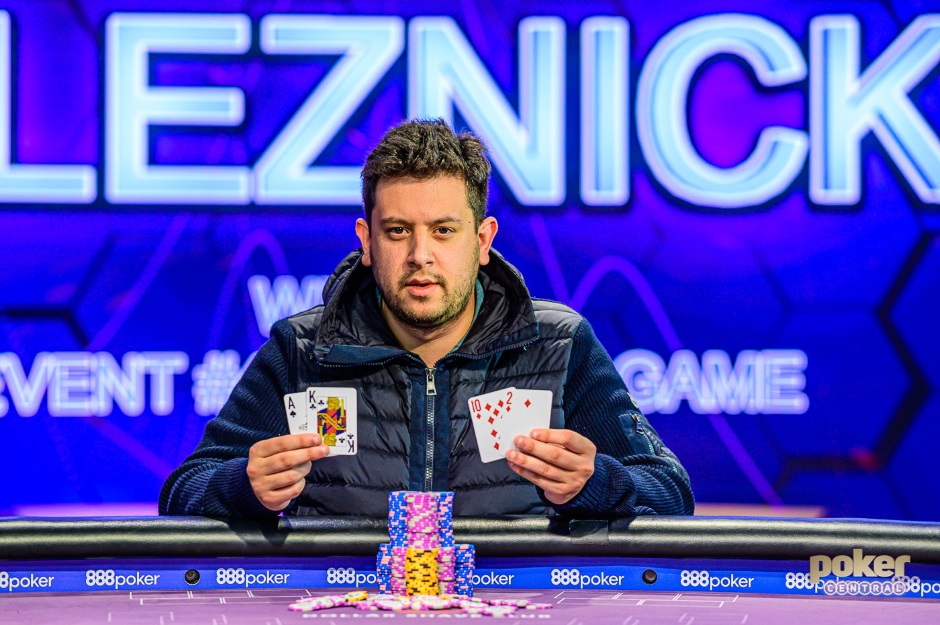 Jared Bleznick Event 4 Poker Masters 2019