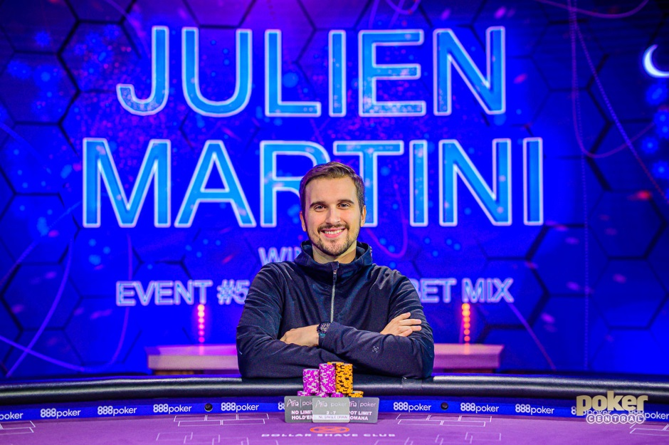 Julien Martini Event 5 Poker Masters 2019