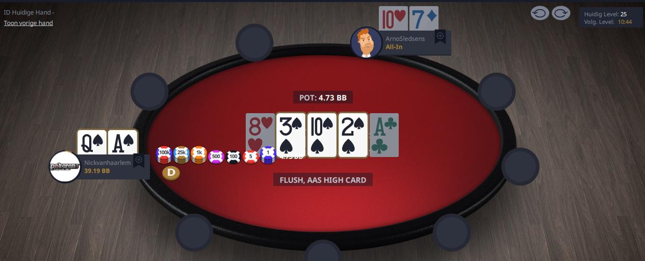Prominence poker mobile